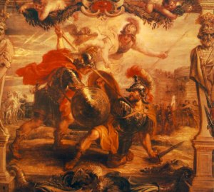 Achilles Slays Hector by Peter Paul Rubens