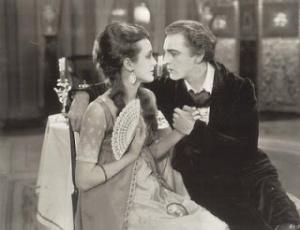 Mary Astor and John Barrymore in Beau Brummel
