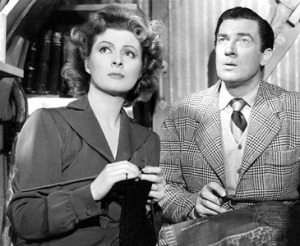 Greer Garson and Walter Pidgeon in William Wyler's Mrs. Miniver