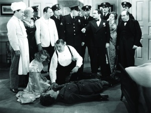 still-of-edward-g_-robinson,-jane-bryan,-ruth-donnelly,-harold-huber,-allen-jenkins-and-willard-parker-in-a-slight-case-of-murder