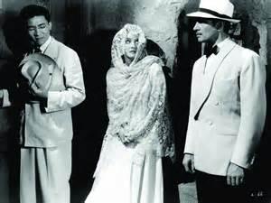 Sen Yung, Bette Davis and James Stephenson