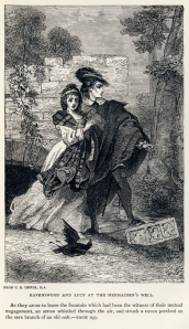 Charles_Robert_Leslie_-_Sir_Walter_Scott_-_Ravenswood_and_Lucy_at_the_Mermaiden's_Well_-_Bride_of_Lammermoor