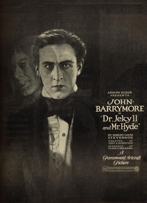 Dr Jekyll And Mr Hyde On Film 1920 1931 1941 Christina Wehner
