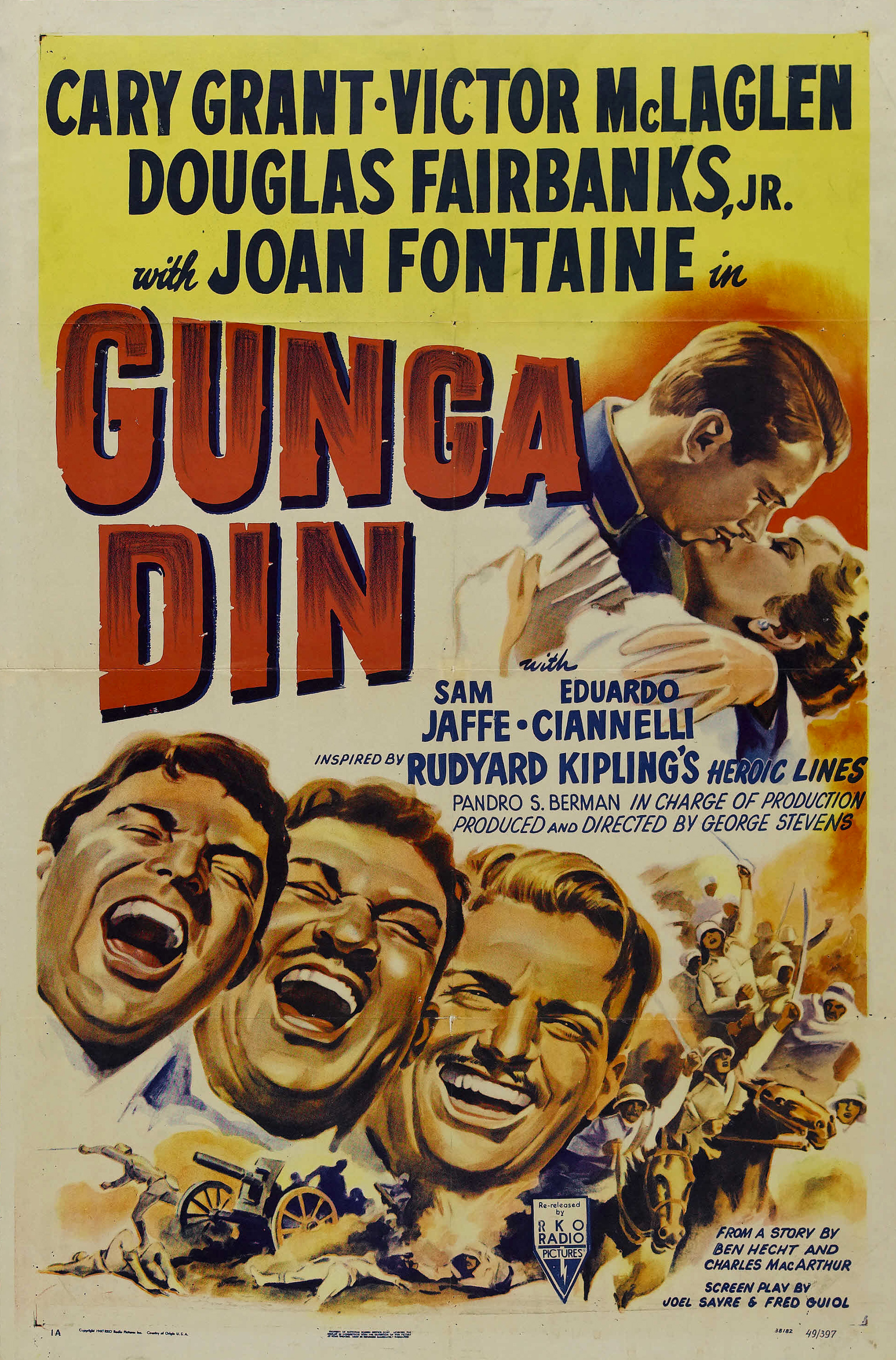 Gunga Din / 'you put some juldee in it.