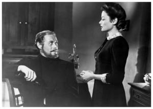Rex Harrison and Gene Tierney