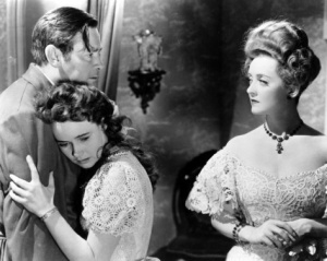 Herbert Marshall. Teresa Wright, Bette Davis