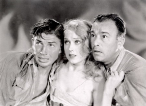 Bruce Cabot, Fay Wray and Robert Armstrong