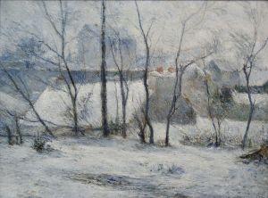 800px-Winter_landscape_Paul_Gauguin