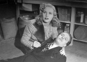 Deanna Durbin and David Bruce - knocked out again