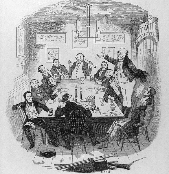 The pickwick papers film