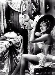 Marlene Dietrich as Frenchy