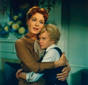 Maureen O'Hara and Hayley Mills