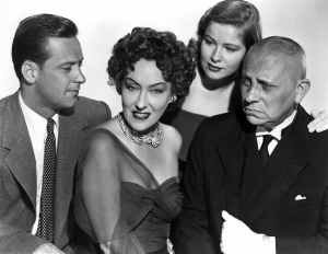 William Holden, Gloria Swanson, Nancy Olson, Erich von Stroheim