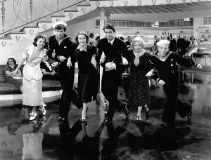 Frances Langford, Buddy Ebsen, Eleanor Powell, James Stewart, Una Merkel, Gunny Saks