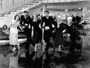 Frances Langford, Buddy Ebsen, Eleanor Powell, James Stewart, Una Merkel, Gunny Saks