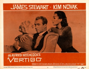 James Stewart with Kim Novak as Madeleine and Judy