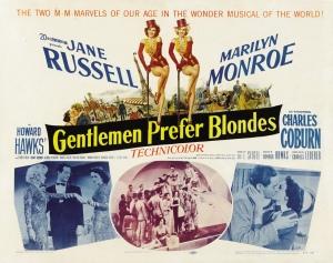 Movie adaption of Broadway play adaption of Loos' novel - 1953