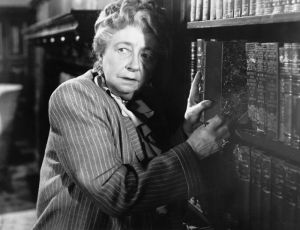 Dame May Whitty - would you trust that woman?