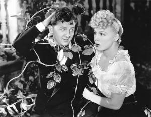 Eddie Bracken and Betty Hutton