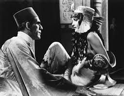 Boris Karloff and Zita Johann
