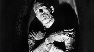 The mummy - make up by the Universal studio genius, Jack Pierce