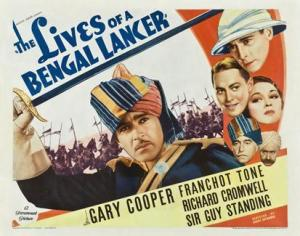 the-lives-of-a-bengal-lancer-poster