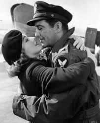 Eleanor Parker and Robert Taylor