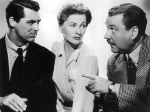 Cary Grant, Joan Fontaine, Nigel Bruce
