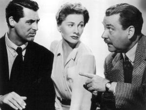 Cary Grant, Joan Fontaine, Nigel Bruce
