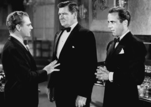 James Cagney, George Bancroft and Humphrey Bogart