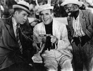 Egghead (Harry Langdon), Bumper (Al Jolson), and Acorn (Edgar Connor)