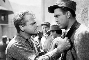 James Cagney and Edmund O'Brien