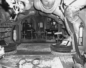 Captain Nemo's cabin, without color