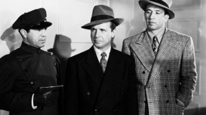a chauffuer, Dick Powell and Mike Mazurki