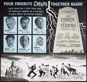 Poster - Comedy of Terrors, The_05