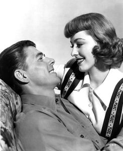 Ronald Reagan and Eleanor Parker