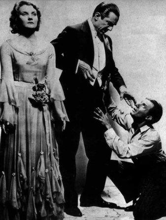 Helen Chandler, Bela Lugosi and Dwight Frye