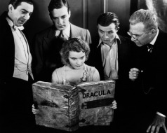 Bela Lugosi, David Manners, Dwight Frye, Edward Van Sloan, Helen Chandler