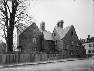 House of Seven Gables, owned by Hawthorne's cousin, which inspired the house of the story