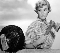 Doris Day and turkey