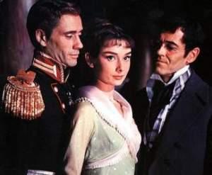 Mel Ferrer, Audrey Hepburn, Henry Fonda
