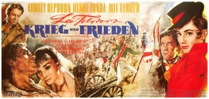 Poster for the 1956 film War and Peace