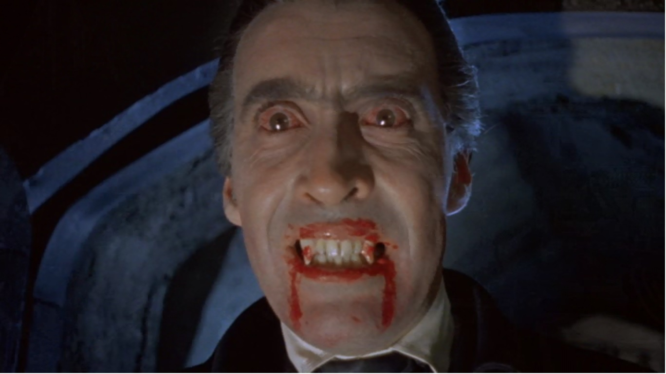 """Try It, You'll Like It"" – Horror of Dracula (1958 ..."