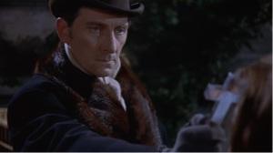 Peter Cushing...wielding a cross