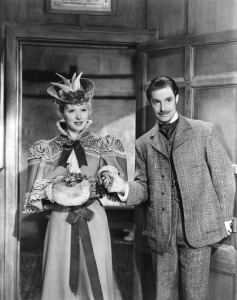 Greer Garson and Robert Donat in the 1939 Goodbye, Mr. Chips
