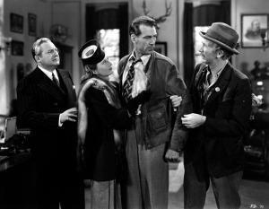 Edward Arnold, Barbara Stanwyck, Gary Cooper, Walter Brennan