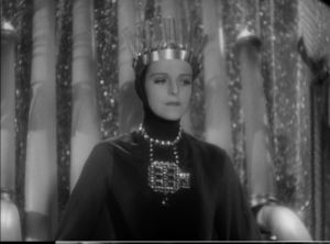 Helen Gahagan, looking very much like the evil queen from Snow White and the Seven Dwarves - was Walt Disney inspired by She?