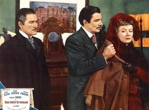 Errol Flynn, Walter Pidgeon, Greer Garson