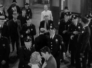 A police deus ex machina wedding