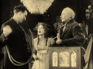 Gwendolyn with the plumber and the organ grinder